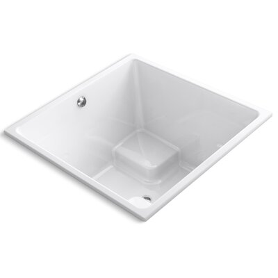 Underscore 48 x 48 Soaking Bathtub Finish: White