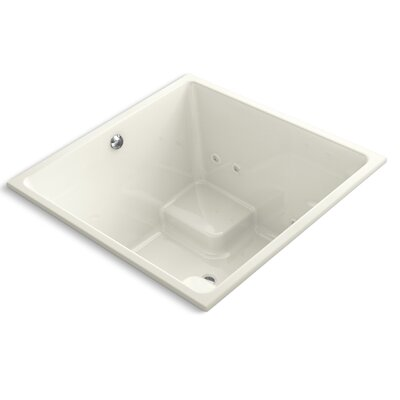 Underscore 48 x 48 Whirlpool Bathtub Finish: Biscuit
