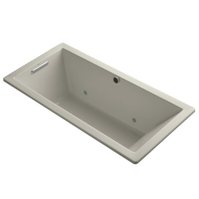 Underscore Bubblemassage 66 x 32 Whirpool Bathtub Finish: Sandbar