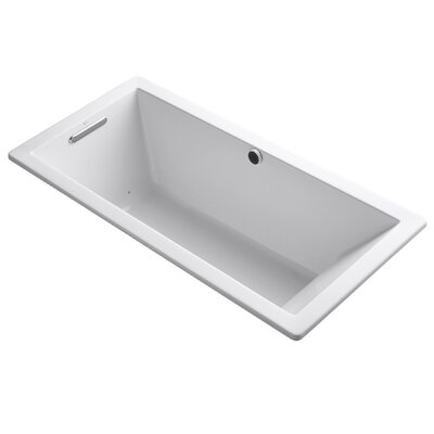 Underscore Bubblemassage 66 x 32 Soaking Bathtub Finish: White