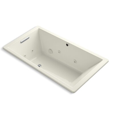 Underscore 66 x 36 Whirpool Bathtub Finish: Biscuit