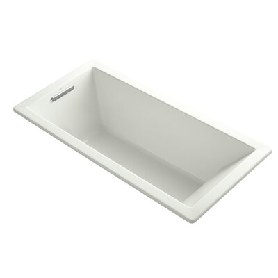 Underscore 66 x 32 Drop-in Soaking Bathtub Finish: Dune