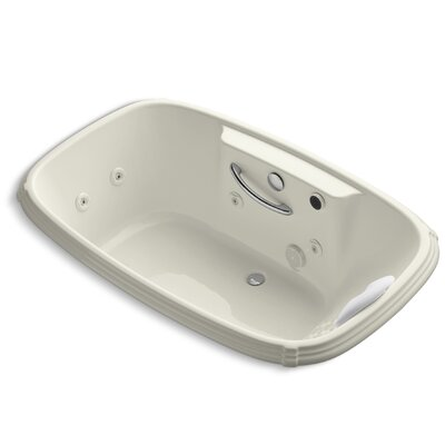 Portrait 67 x 42 Whirpool Bathtub Finish: Biscuit