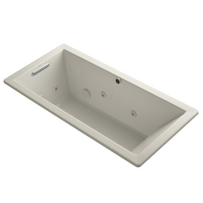 Underscore 66 x 32 Whirpool Bathtub Finish: Sandbar