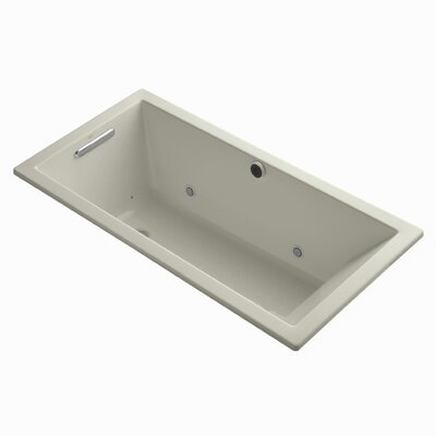 Underscore Bubblemassage 60 x 30 Whirpool Bathtub Finish: Sandbar