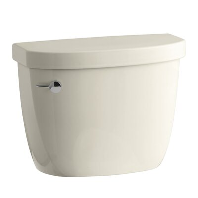 Cimarron 1.28 GPF High Efficiency Toilet Tank with Aquapiston Flush Technology, Insuliner Tank Liner and Tank Locks Finish: Almond