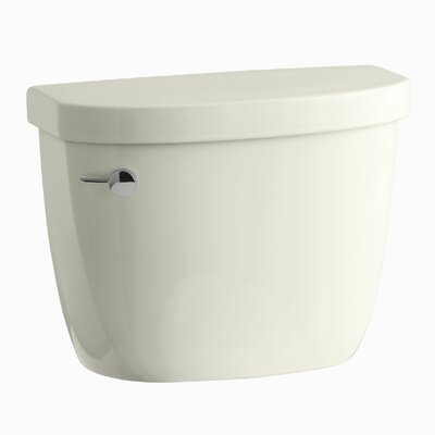Cimarron 1.28 GPF High Efficiency Toilet Tank with Aquapiston Flush Technology and Tank Locks Finish: Biscuit