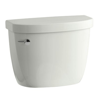 Cimarron 1.28 GPF High Efficiency Toilet Tank with Aquapiston Flush Technology and Insuliner Tank Liner Finish: Dune