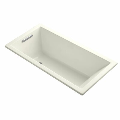 Underscore 60 x 30 Soaking Bathtub Finish: Biscuit
