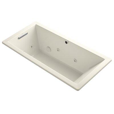 Underscore 66 x 32 Whirpool Bathtub Finish: Almond