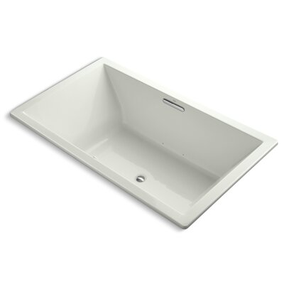 Underscore 72 x 42 Air Bathtub Finish: Dune