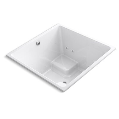 Underscore 48 x 48 Whirlpool Bathtub Finish: White