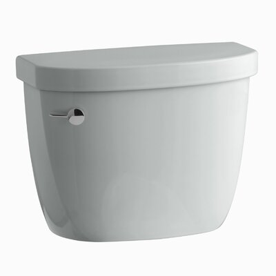 Cimarron 1.28 GPF High Efficiency Toilet Tank with Aquapiston Flush Technology and Tank Locks Finish: Ice Grey