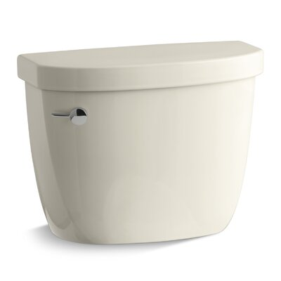 Cimarron 1.28 GPF High Efficiency Toilet Tank with Aquapiston Flush Technology and Insuliner Tank Liner Finish: Almond