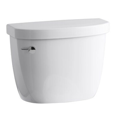 Cimarron 1.28 GPF High Efficiency Toilet Tank with Aquapiston Flush Technology and Tank Locks Finish: White