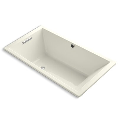 Underscore Bubblemassage 66 x 36 Soaking Bathtub Finish: Biscuit