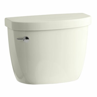 Cimarron 1.28 GPF High Efficiency Toilet Tank with Aquapiston Flush Technology, Insuliner Tank Liner and Tank Locks Finish: Biscuit