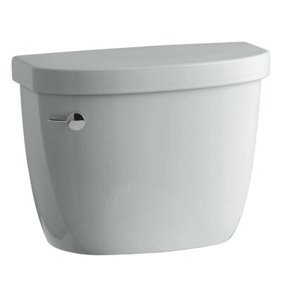 Cimarron 1.28 GPF High Efficiency Toilet Tank with Aquapiston Flush Technology and Insuliner Tank Liner Finish: Ice Grey