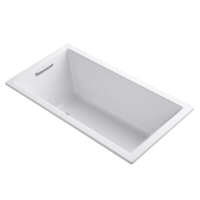 Underscore 60 x 32 Soaking Bathtub Finish: White