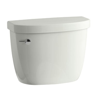 Cimarron 1.28 GPF High Efficiency Toilet Tank with Aquapiston Flush Technology and Tank Locks Finish: Dune