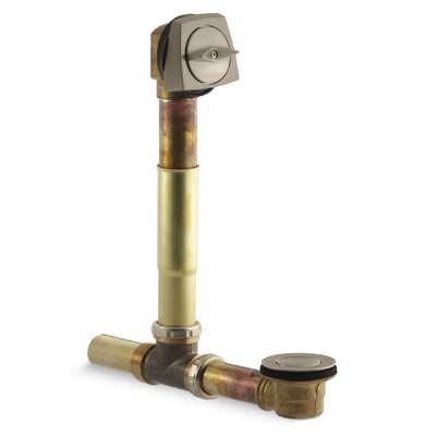 1-1/2 Adjustable 3.69 Trip Lever Bathroom Tub Drain with Overflow Finish: Vibrant Brushed Bronze