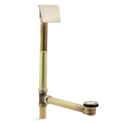 Clearflo 1-1/2 Contoured 1.5 Leg Tub Drain With Overflow Finish: Vibrant Brushed Bronze
