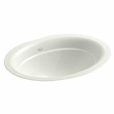 Serif Oval Undermount Bathroom Sink Sink Finish: Dune