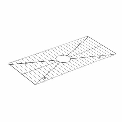 Poise Stainless Steel Sink Rack, 28-3/16 x 13-3/16