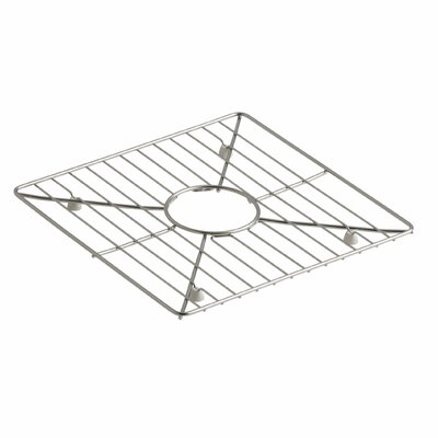 Poise Stainless Steel Sink Rack, 13-3/16 x 13-3/16, for Kitchen and Bar Sinks
