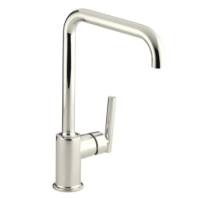 Purist Single-Hole Kitchen Sink Faucet with 8 Spout Finish: Vibrant Polished Nickel