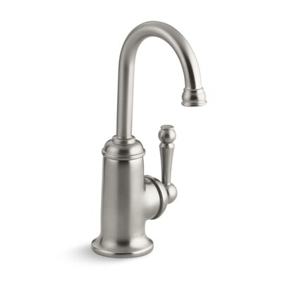 Wellspring Beverage Faucet with Traditional Design and Components To Connect with The Aquifer Water Filtration System Finish: Polished Chrome