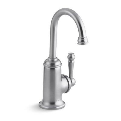 Wellspring Beverage Faucet with Traditional Design and Components To Connect with The Aquifer Water Filtration System Finish: Brushed Chrome