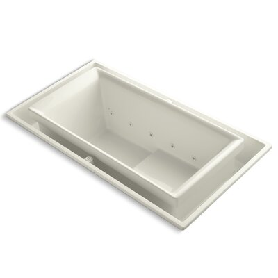 Sok 75 x 41 Whirlpool Bathtub Finish: Biscuit