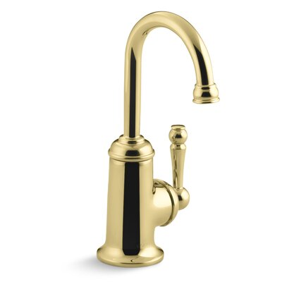 Wellspring Beverage Faucet with Traditional Design Finish: Vibrant Polished Brass