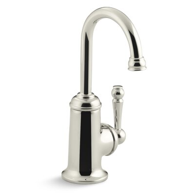 Wellspring Beverage Faucet with Traditional Design and Components To Connect with The Aquifer Water Filtration System Finish: Vibrant Polished Nickel