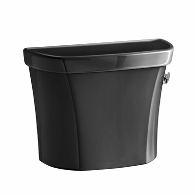 Wellworth 1.28 GPF Right-Hand Tank with Insuliner Tank Liner and Locks Finish: Black Black