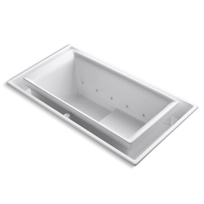 Sok 75 x 41 Air / Whirlpool Bathtub Finish: White
