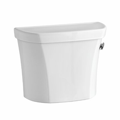 Wellworth 1.28 GPF Right-Hand Tank with Insuliner Tank Liner and Locks Finish: White