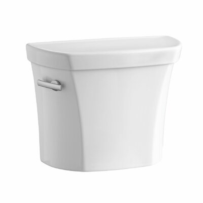 Wellworth 1.28 GPF Tank with Insuliner Tank Liner and Locks Finish: White