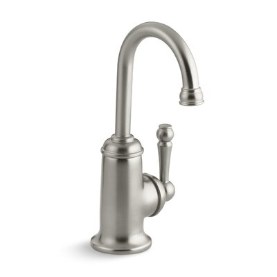 Wellspring Beverage Faucet with Traditional Design and Components To Connect with The Aquifer Water Filtration System Finish: Vibrant Brushed Nickel