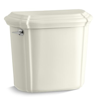 Portrait Toilet Tank with Insuliner Tank Liner Finish: Biscuit