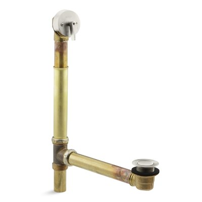 Kathryn 1.5 Trip lever Tub Drain Finish: Vibrant Brushed Nickel
