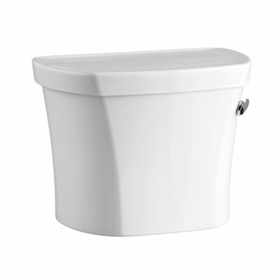 Wellworth 1.28 Tank, 14 Rough-In, Right-Hand Trip with Insuliner Tank Liner and Tank Cover Locks Finish: White
