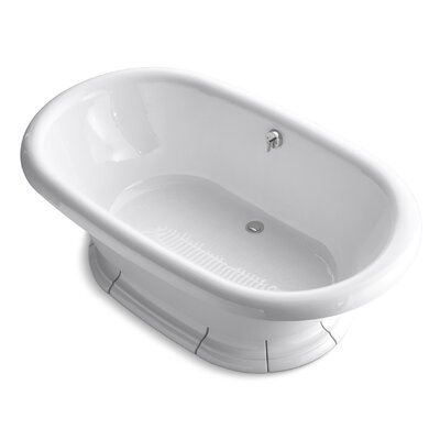 Vintage 72 x 42 Soaking Bathtub Finish: White