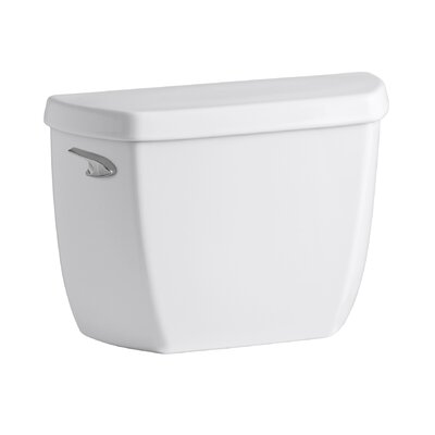 Wellworth Classic 1.28 GPF Toilet Tank with Class Five Flushing Technology Finish: White