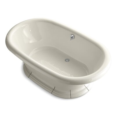Vintage 72 x 42 Soaking Bathtub Finish: Almond
