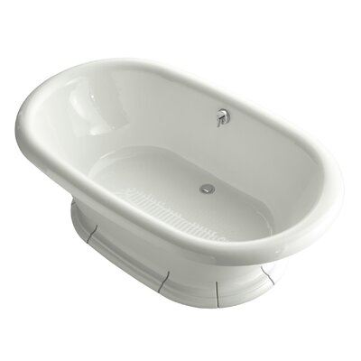 Vintage 72 x 42 Soaking Bathtub Finish: Dune
