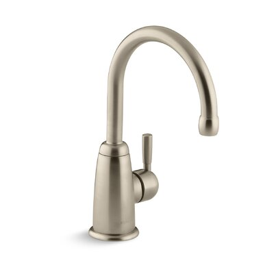 Wellspring Bar Faucet with Contemporary Design Finish: Vibrant Brushed Bronze