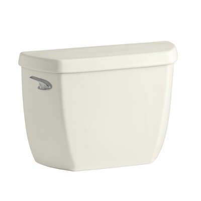 Wellworth Classic 1.28 GPF Toilet Tank with Class Five Flushing Technology Finish: Biscuit