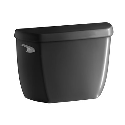 Wellworth Classic 1.28 GPF Toilet Tank with Class Five Flushing Technology Finish: Black Black